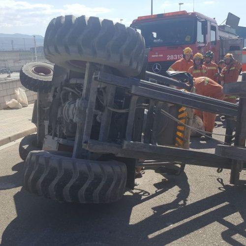 Mor un jove de 21 anys en un accident laboral a l'Olleria