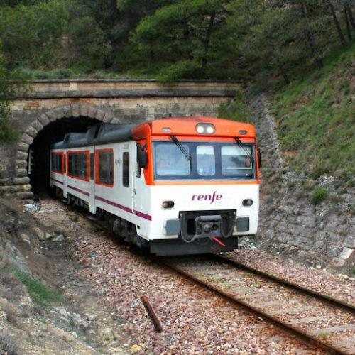 Pondrán brujas en los túneles para incentivar el uso del tren Xàtiva-Alcoi