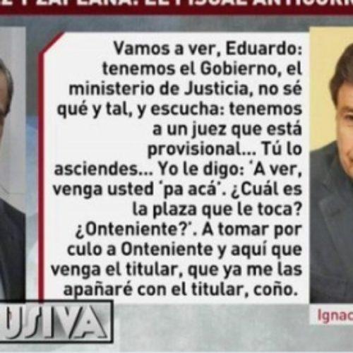 """El juez condena a Ignacio González a escribir 5.000 veces """"a tomar por culo a Ontinyent"""""""