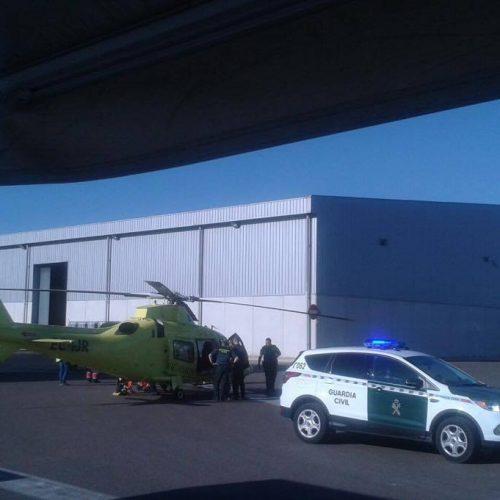 Nou accident laboral a l'Olleria amb un ferit greu