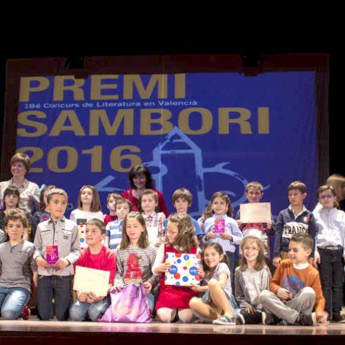 Els premis Sambori guardonen 33 obres literàries i en valencià