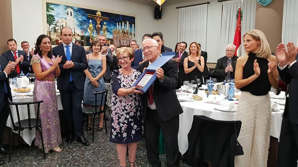 Mª Àngels Mora, Festera Exemplar 2017 El Periòdic d'Ontinyent