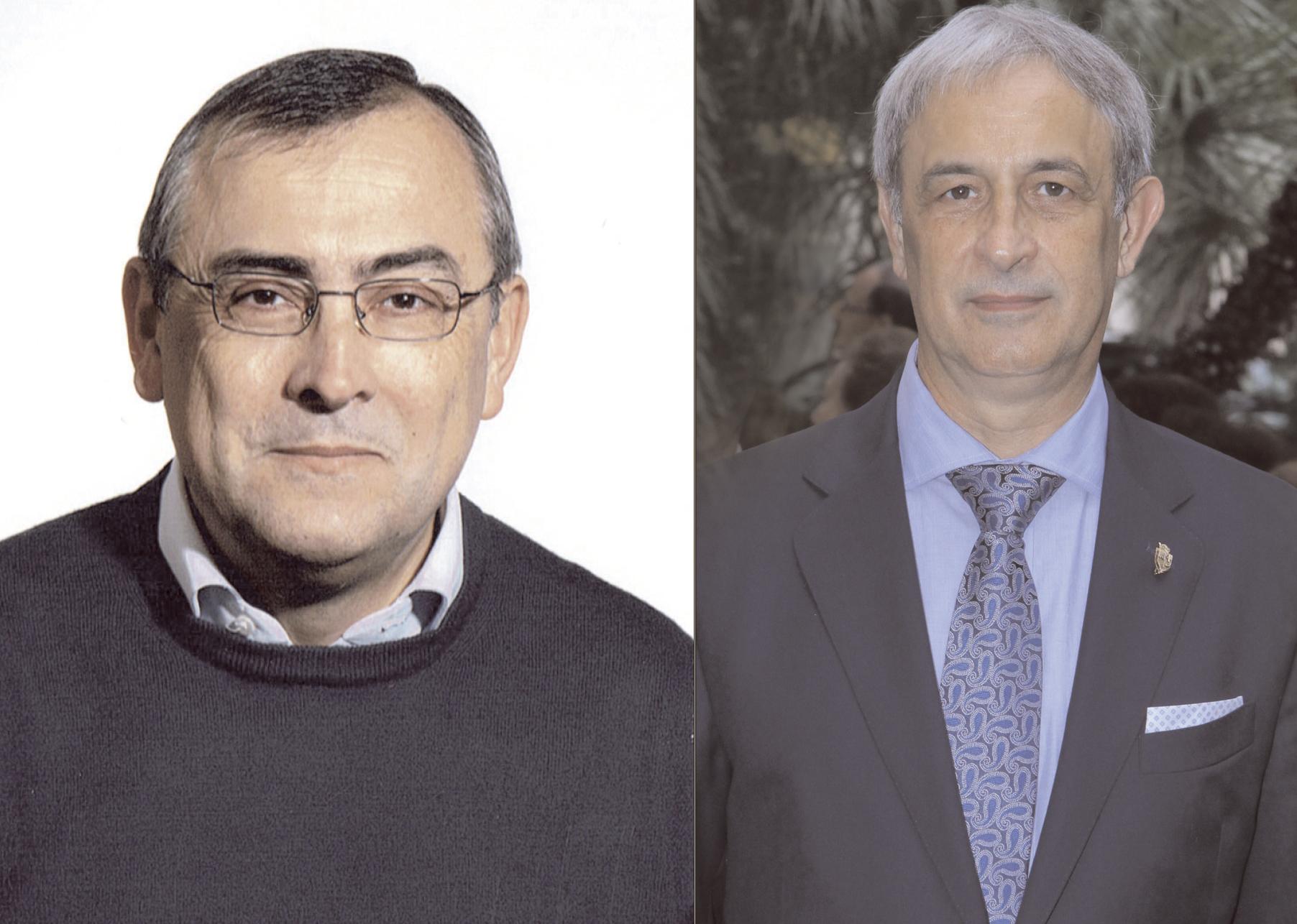 Alfred Bernabeu i Sergio Pomar, pregó i cartell de la Puríssima El Periòdic d'Ontinyent