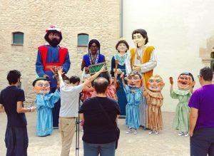 Els Gegants i Cabets es converteixen en actors El Periòdic d'Ontinyent