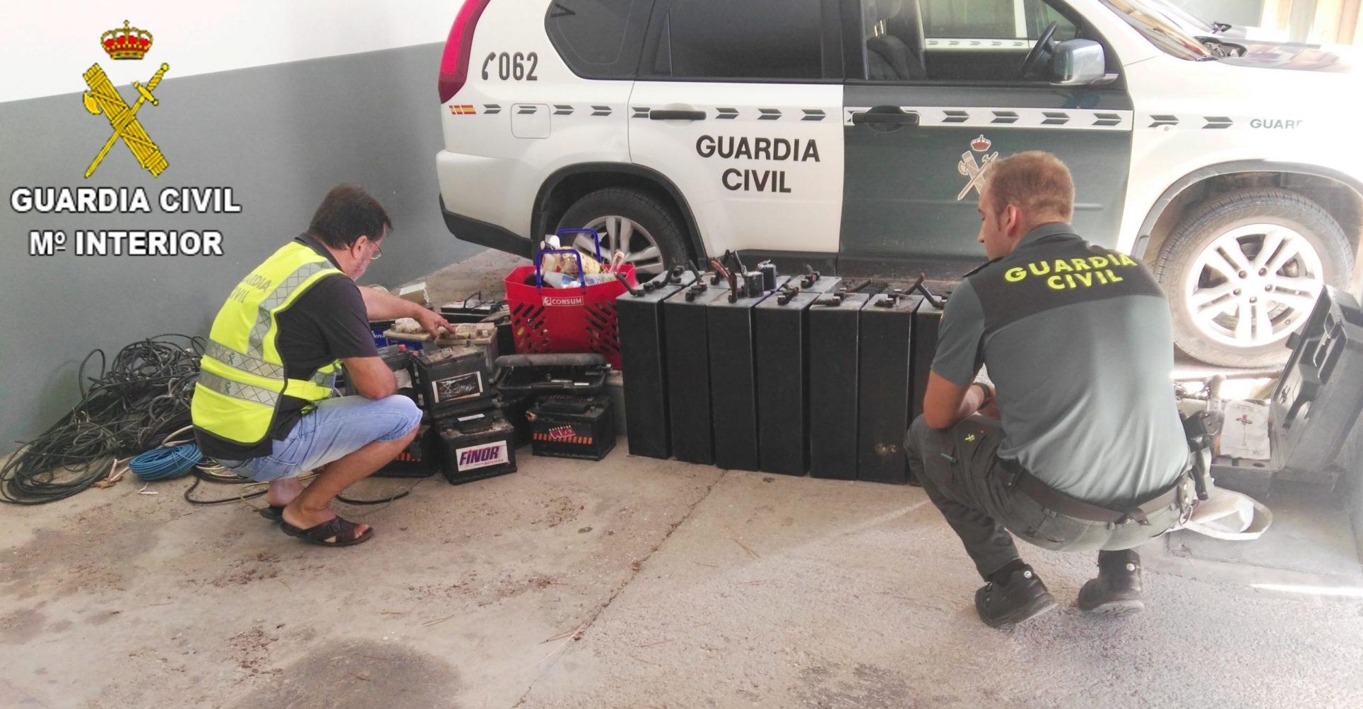 Sis detinguts per cometre 40 robatoris a la comarca El Periòdic d'Ontinyent - Noticies a Ontinyent