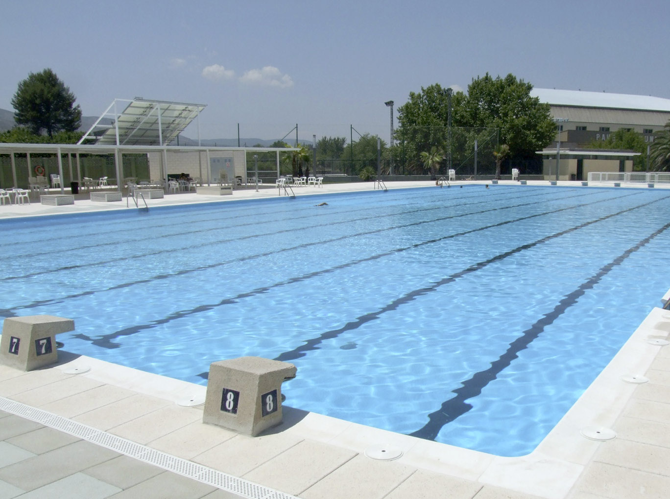 La Federación descarta homologar la piscina de verano El Periòdic d'Ontinyent