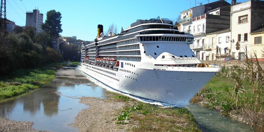El proyecto de traer cruceros al Puerto de la Cantereria, gana el Ontinyent Participa