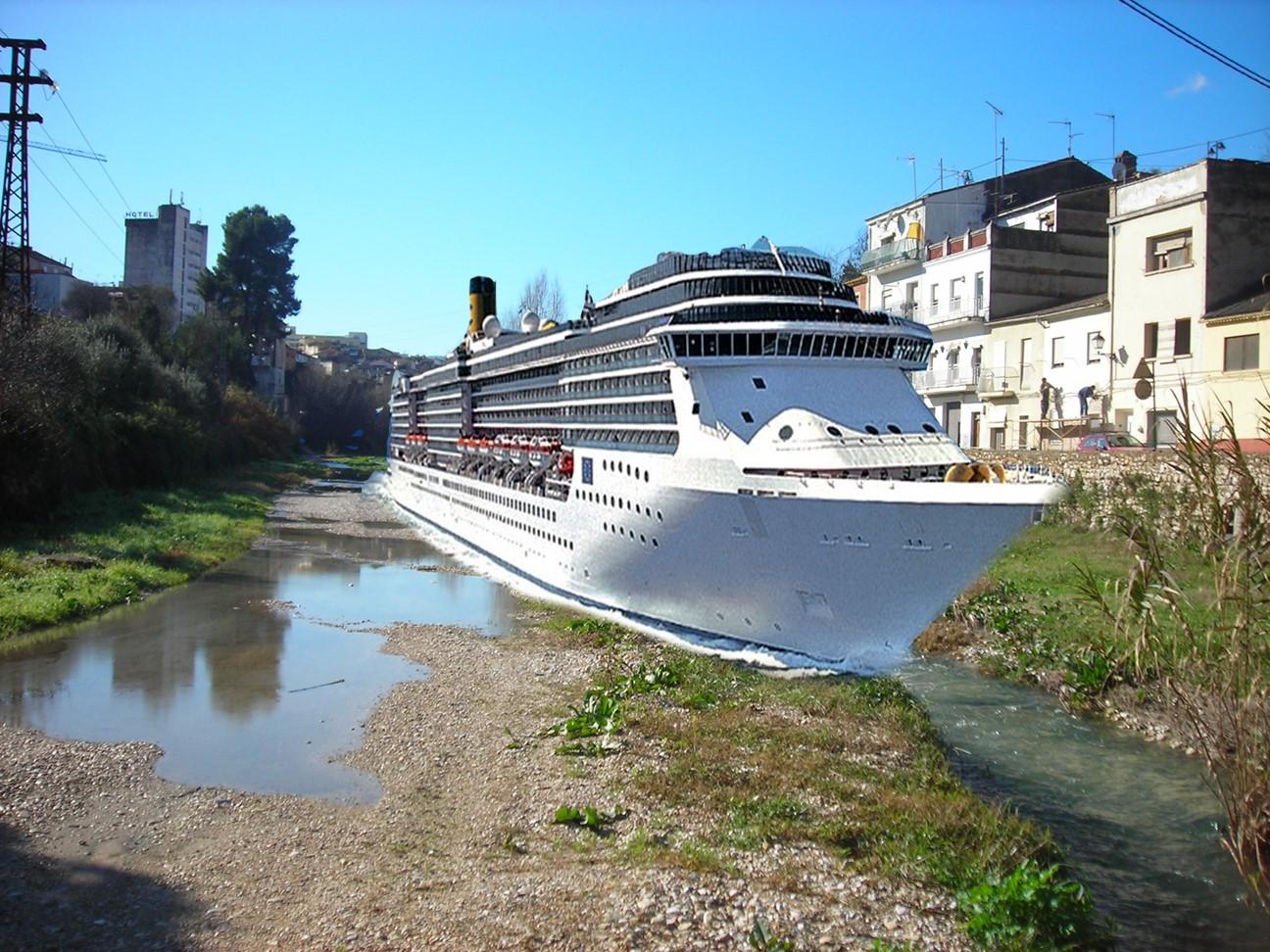 El proyecto de traer cruceros al Puerto de la Cantereria, gana el Ontinyent Participa El Periòdic d'Ontinyent