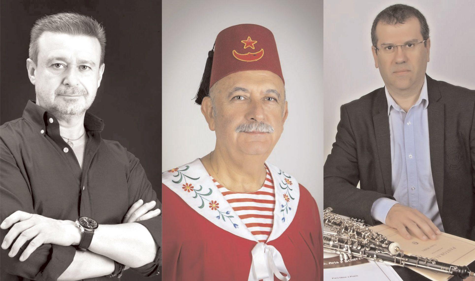 Rafa Torró, Vicent Esparza i Jordi Soler, protagonistes de la festa 2018 El Periòdic d'Ontinyent