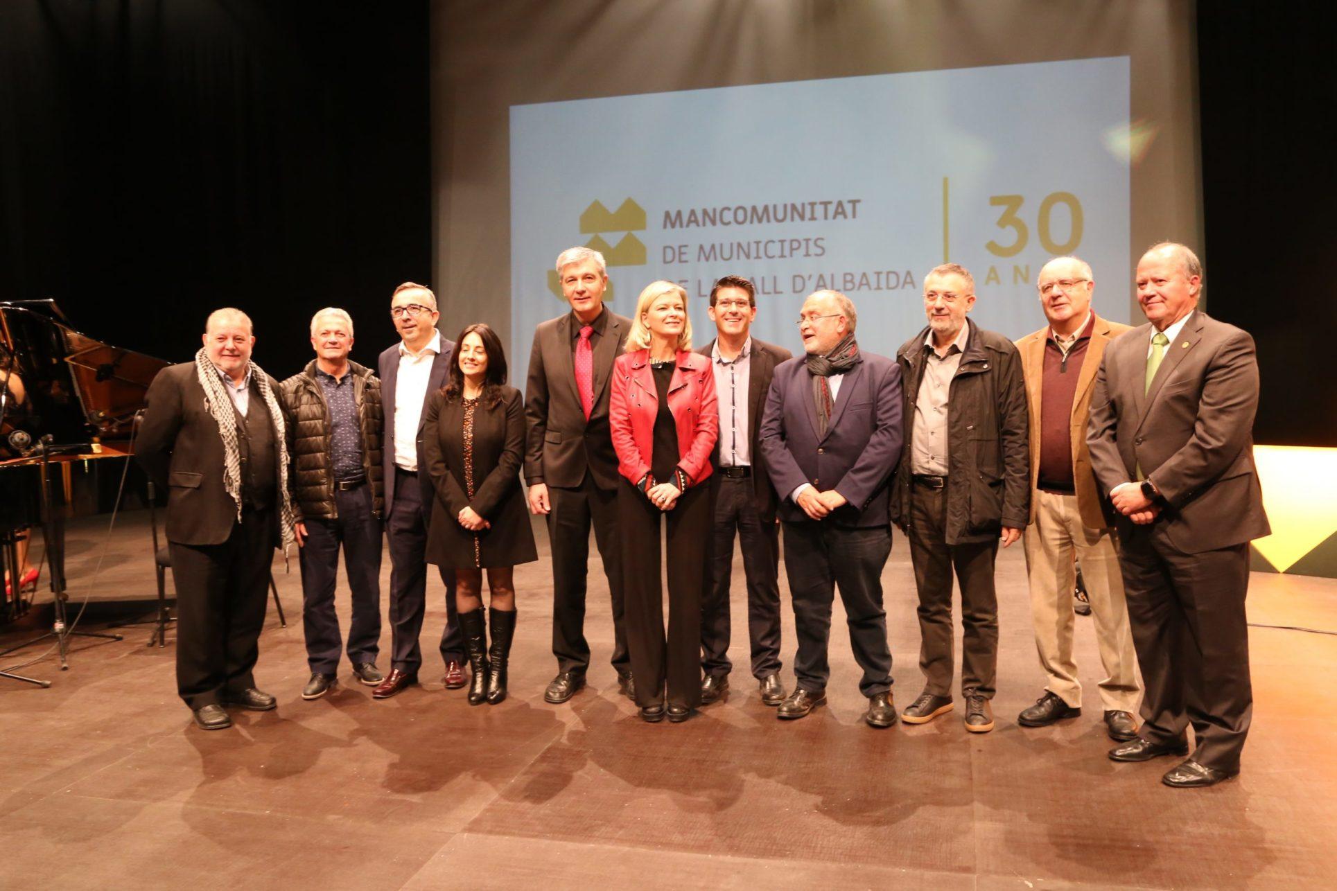 La Mancomunitat compleix els seus 30 primers anys El Periòdic d'Ontinyent