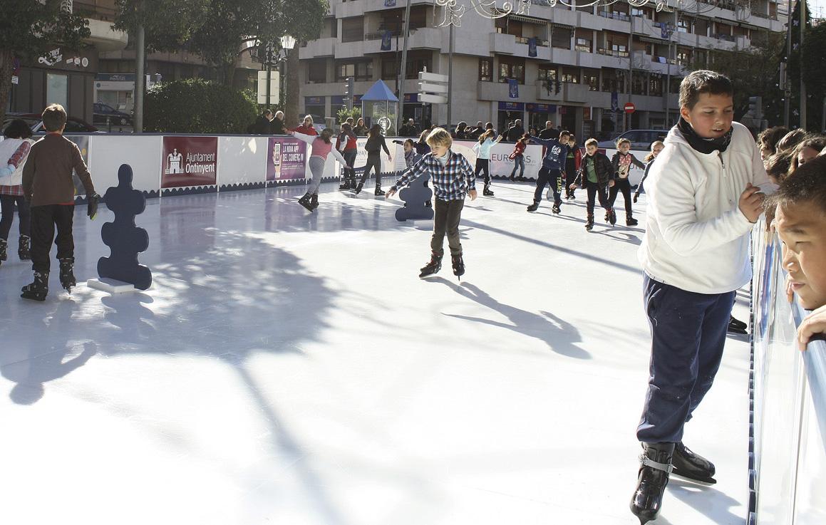 Descarten la pista de patinatge per a aquest Nadal El Periòdic d'Ontinyent