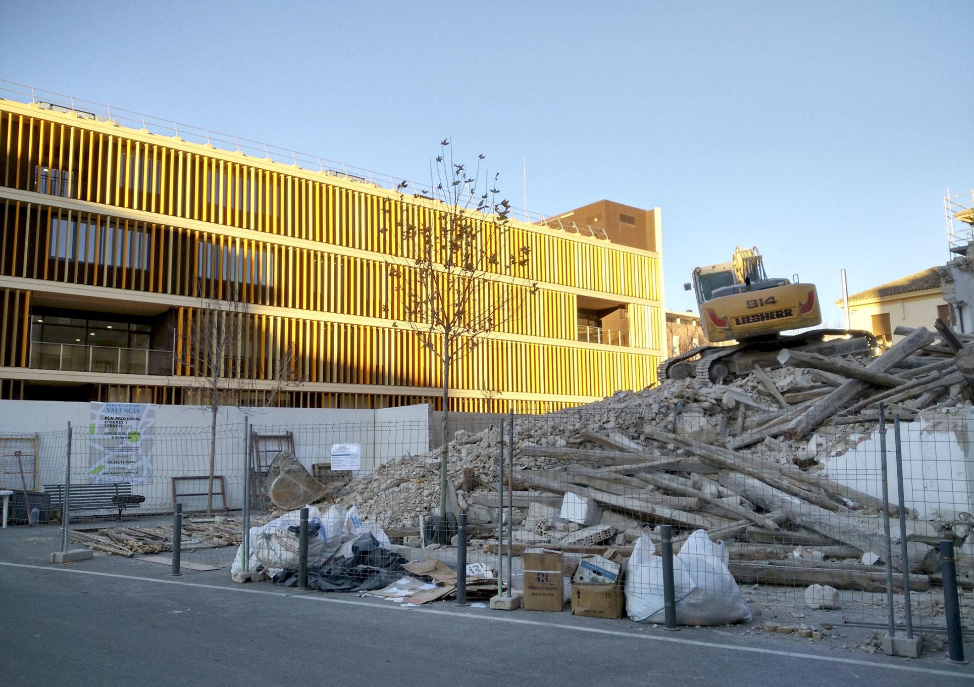 El Campus tindrà més espai per a crèixer en el futur El Periòdic d'Ontinyent