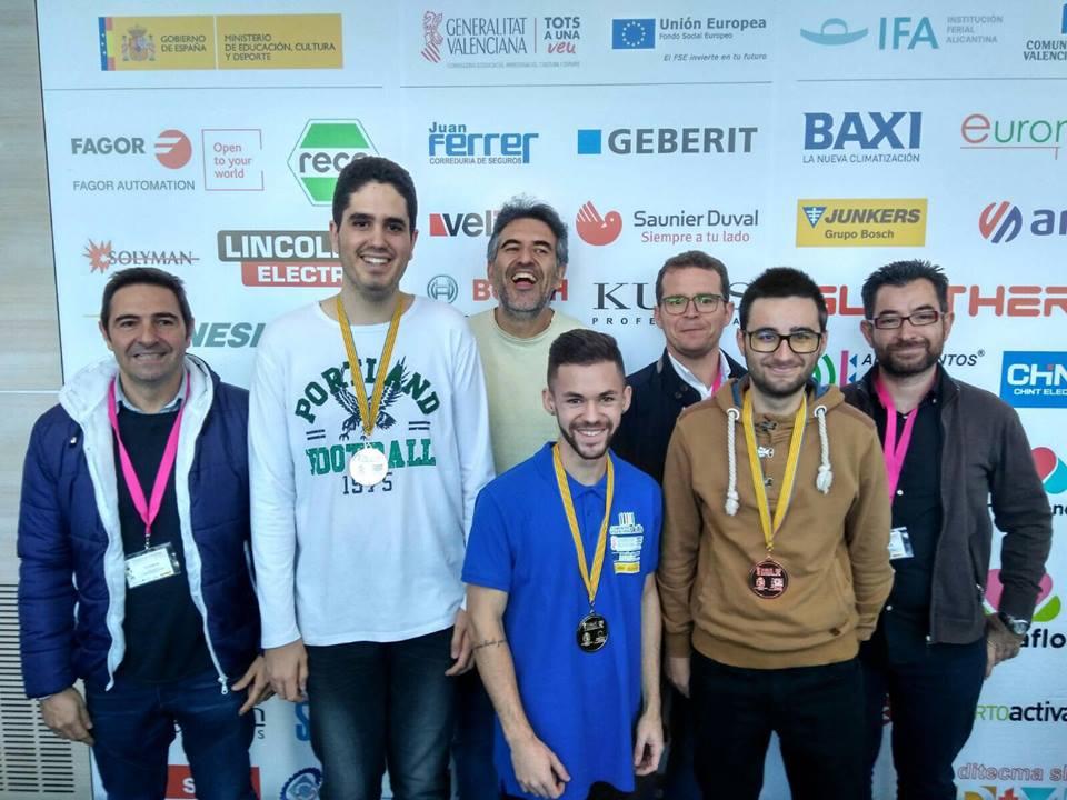 L'IES l'Estació, bronze al Campionat Autonòmic de FP El Periòdic d'Ontinyent