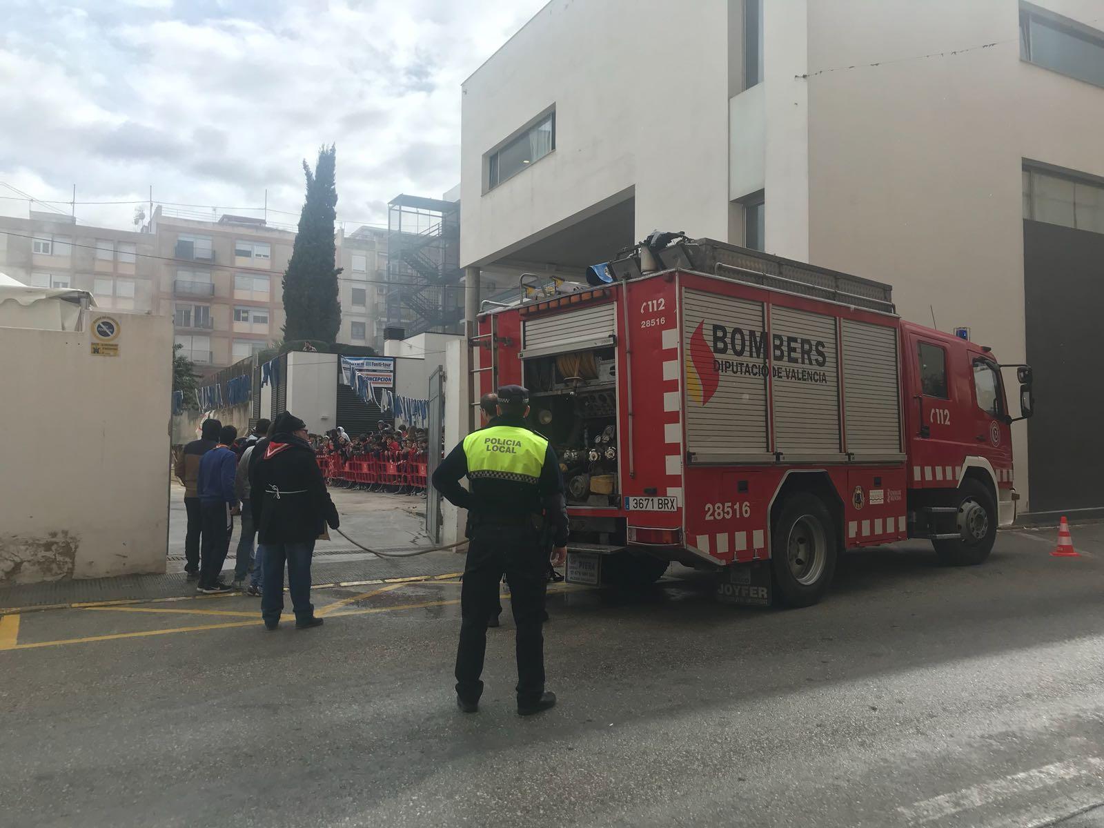 Petit contratemps al concurs de paelles dels Juniors de Sant Josep El Periòdic d'Ontinyent - Noticies a Ontinyent