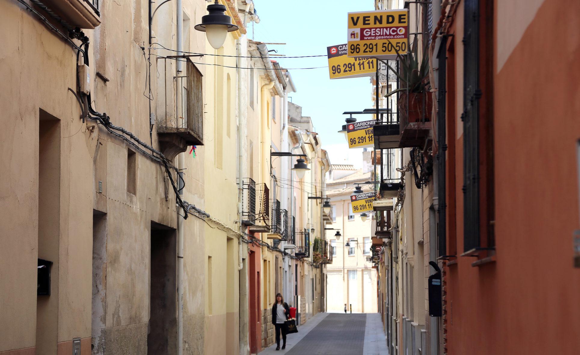 El regateo por el precio de la vivienda se reduce un 15% en Ontinyent El Periòdic d'Ontinyent