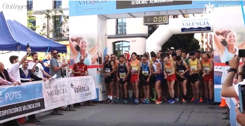 Rècord de participació femenina a la III 10k MiC-Almogàvers El Periòdic d'Ontinyent