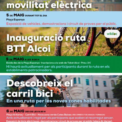 La bicicleta serà la protagonista a Alcoi el 5 i 6 de maig