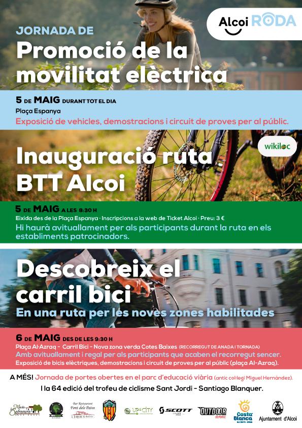 La bicicleta serà la protagonista a Alcoi el 5 i 6 de maig El Periòdic d'Ontinyent