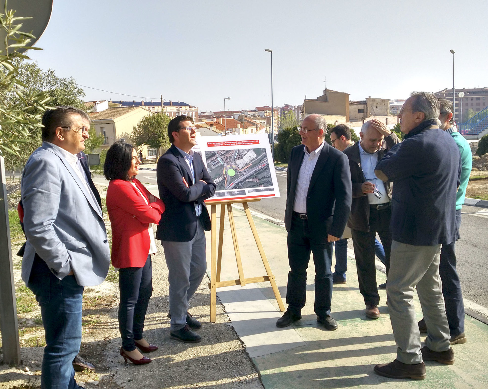 El dilluns arranquen les obres de la rodona de Torrefiel El Periòdic d'Ontinyent