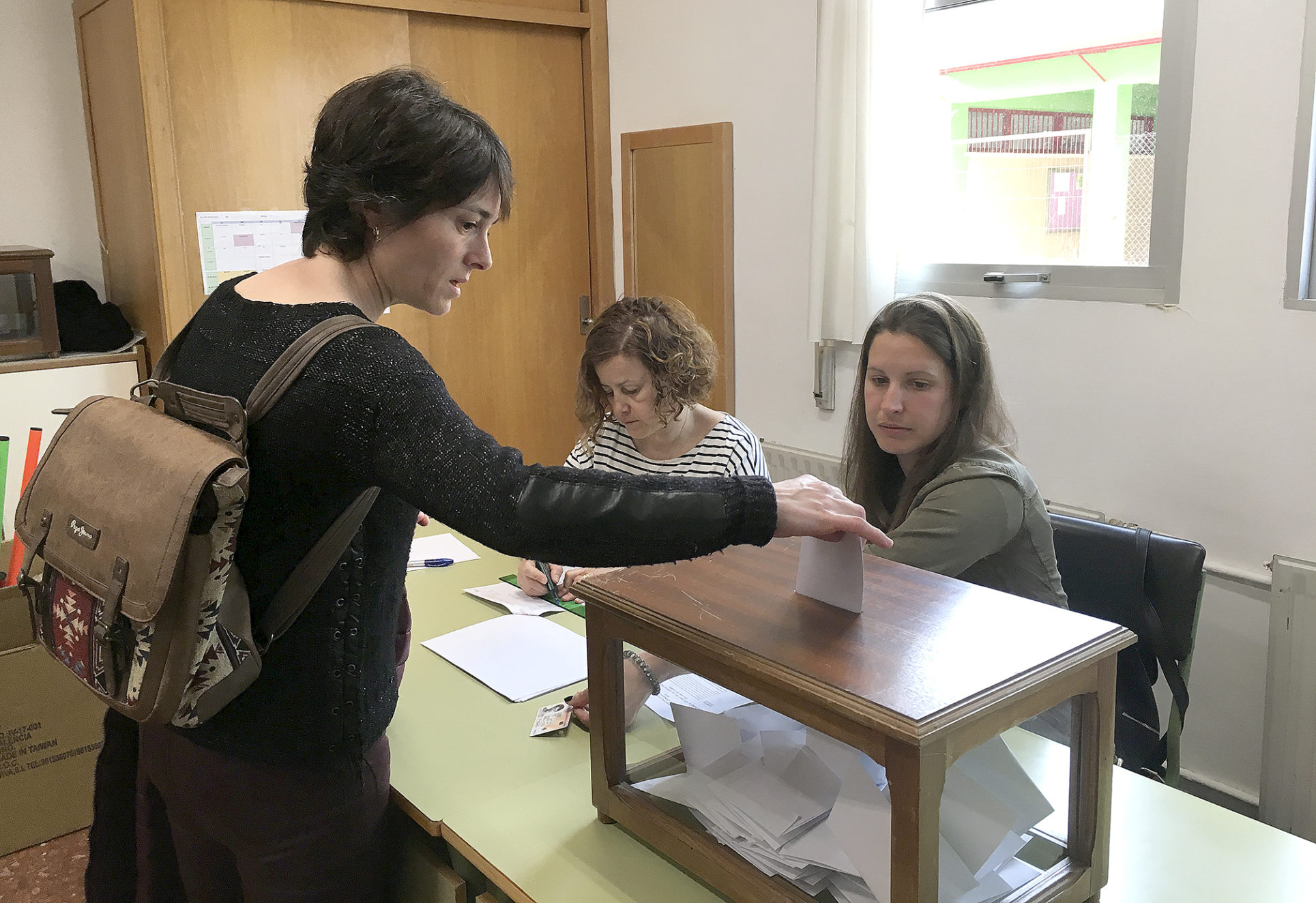 Els col·legis Bonavista i Martínez Valls voten hui per la jornada continuada El Periòdic d'Ontinyent