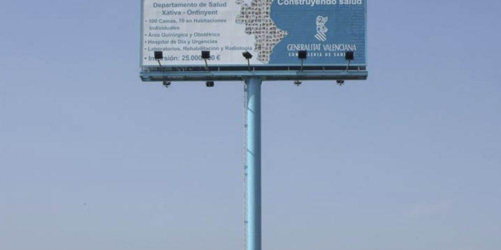 Piden que el cartel donde no se construirá el Hospital sea declarado Bien de Interés Cultural