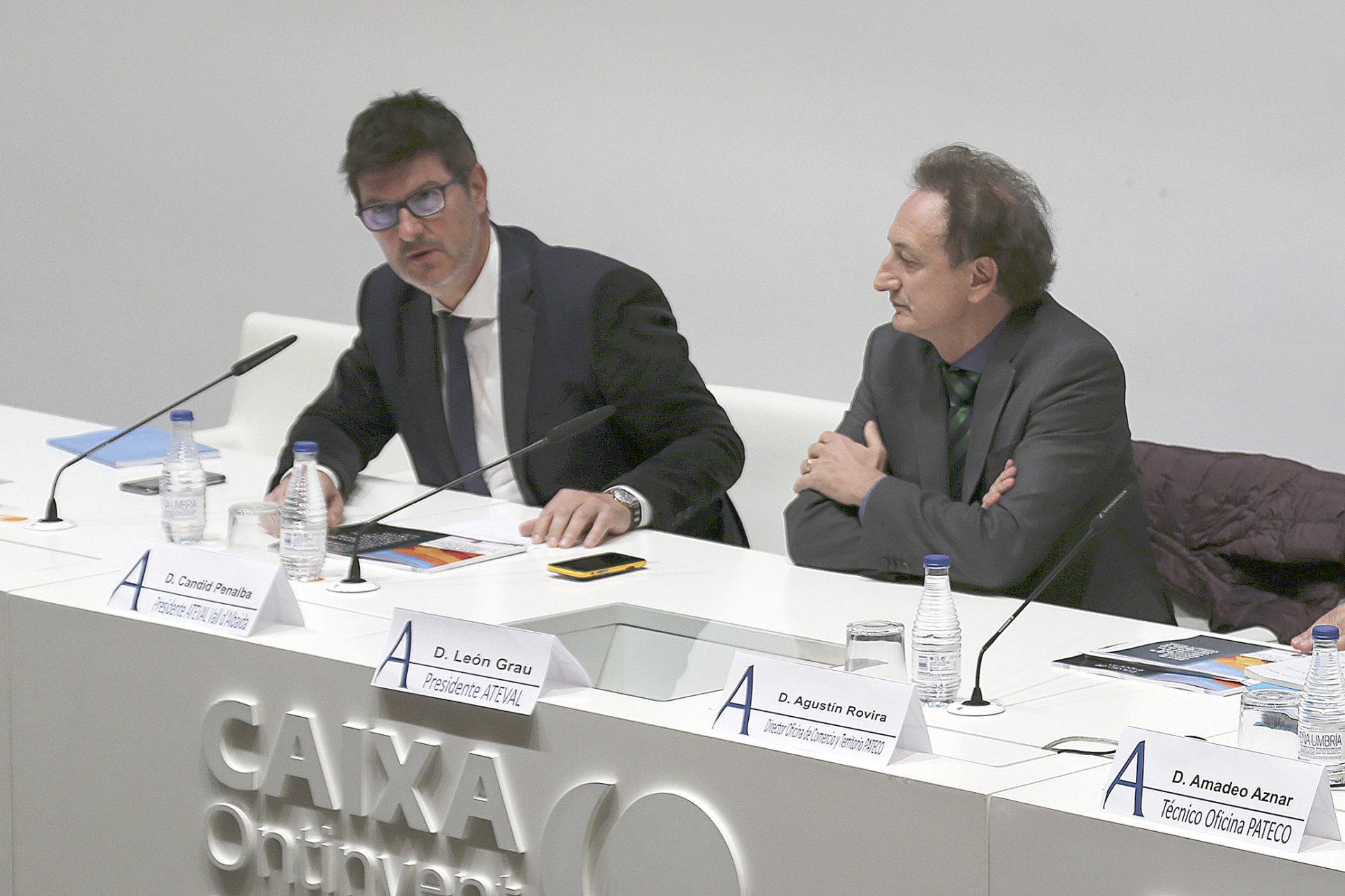 Càndid Penalba pega el bot a ATEVAL Comunitat Valenciana El Periòdic d'Ontinyent