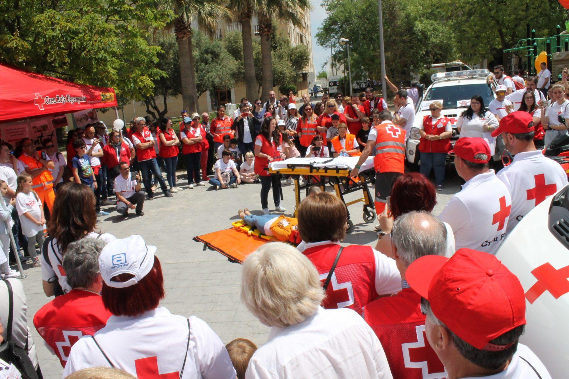 Ontinyent acull més de 500 voluntaries i voluntaris de Creu Roja El Periòdic d'Ontinyent