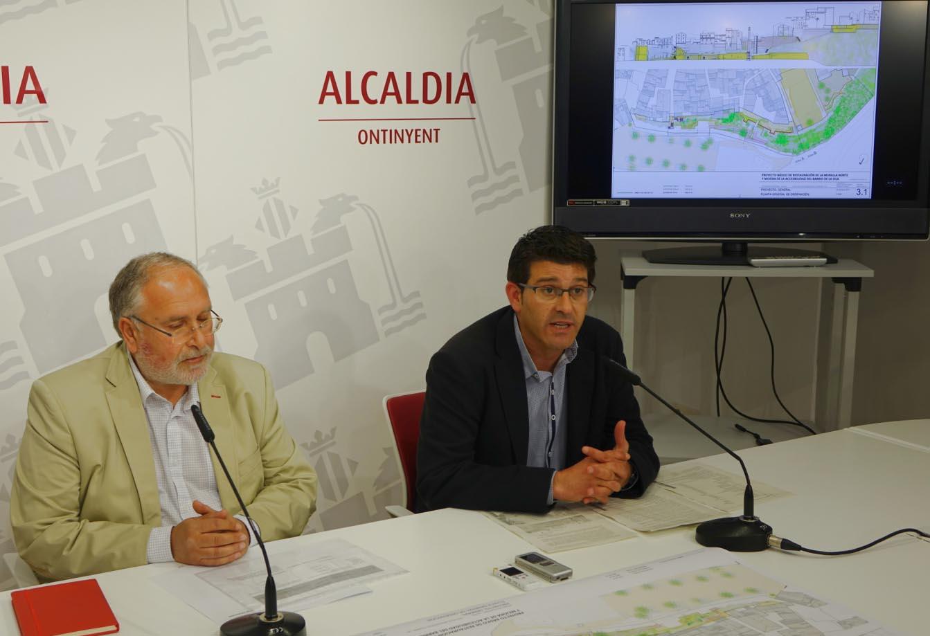 500.000 € per a rehabilitar la muralla i instal·lar un ascensor panoràmic a la Vila El Periòdic d'Ontinyent