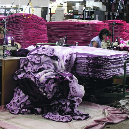 Les empreses tèxtils creixen per primera vegada des de la crisi