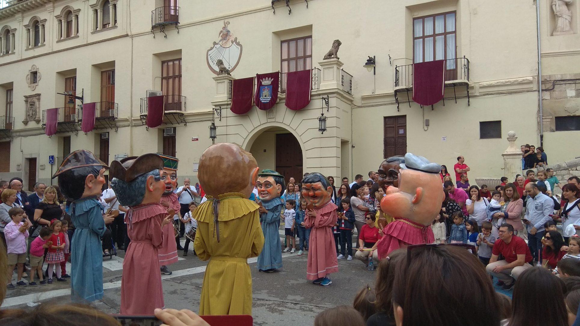 Gegants i Cabets obrin pas al Corpus Christi El Periòdic d'Ontinyent