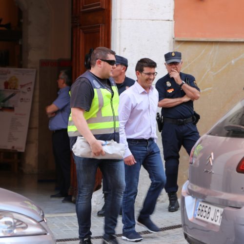 Jorge Rodríguez, traslladat detingut a València