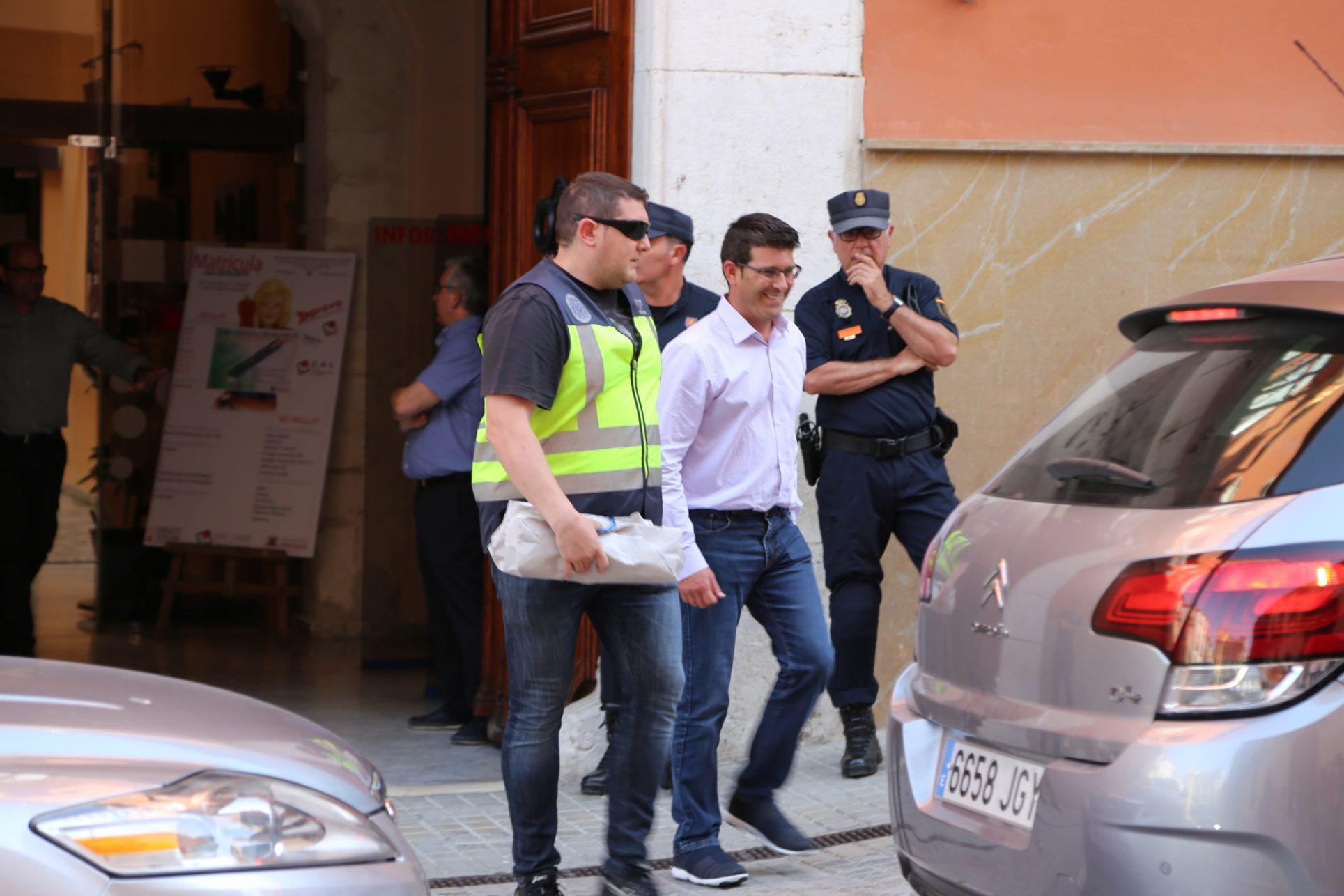 Jorge Rodríguez, traslladat detingut a València El Periòdic d'Ontinyent - Noticies a Ontinyent