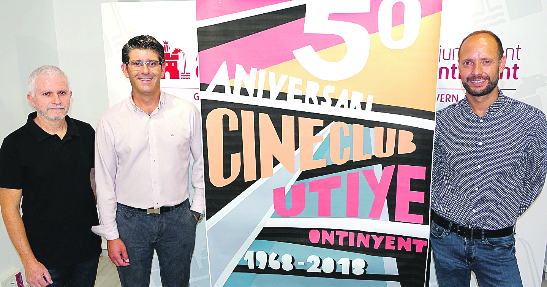 Trueba i Mariscal visitaran Ontinyent en el 50 aniversari de l'Utiye El Periòdic d'Ontinyent