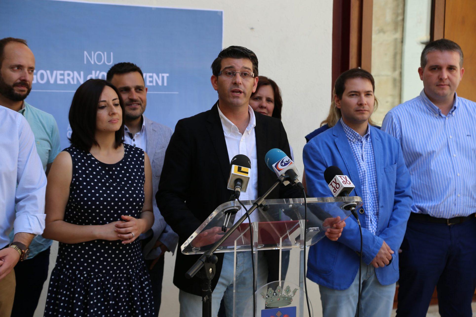 Jorge Rodriguez reprén les funcions de l'alcaldia El Periòdic d'Ontinyent - Noticies a Ontinyent