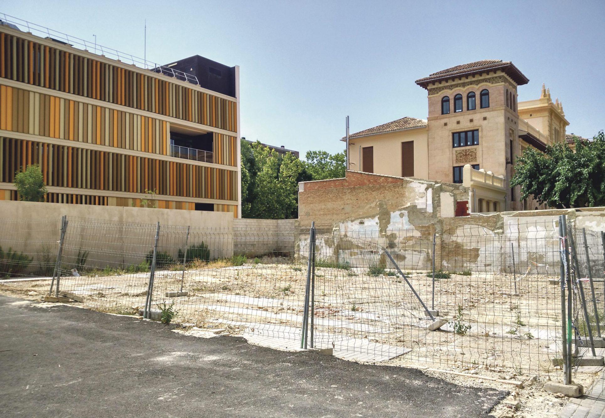 La nova zona verda de la Universitat estarà en octubre El Periòdic d'Ontinyent - Noticies a Ontinyent