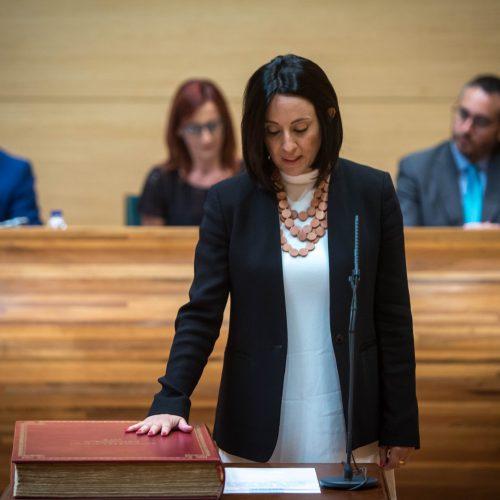 Rebeca Torró assumeix l'acta de diputada