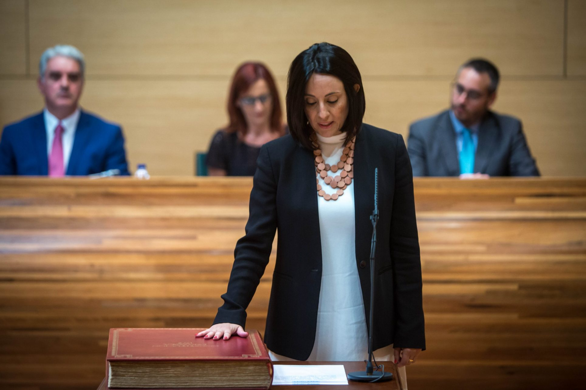 Rebeca Torró assumeix l'acta de diputada El Periòdic d'Ontinyent