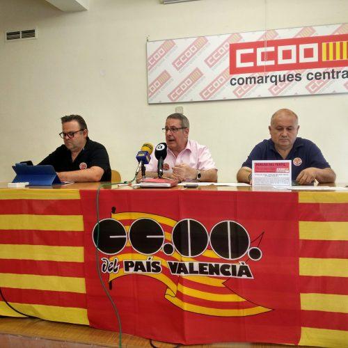 Arranca la vaga del tèxtil a Ontinyent