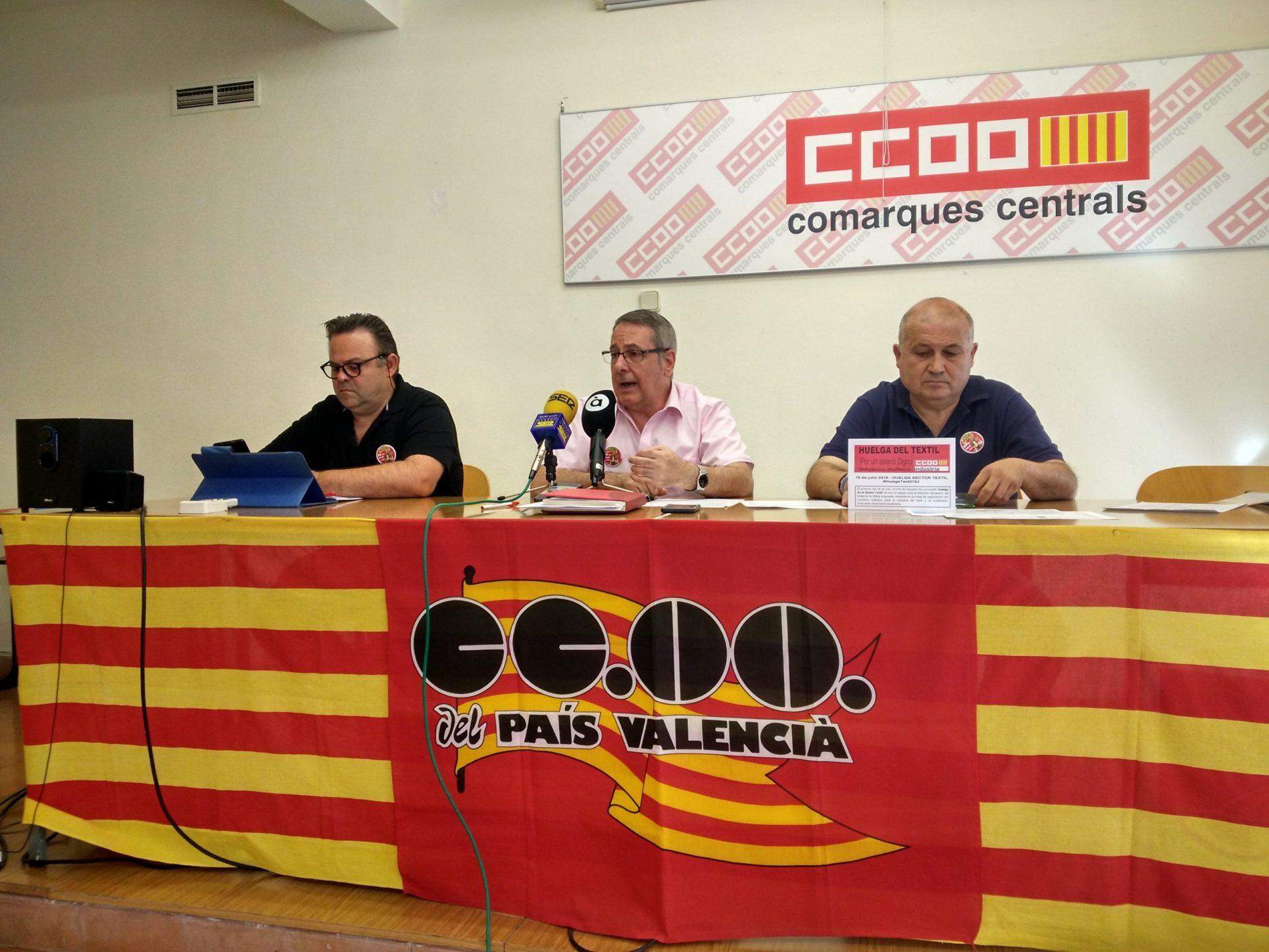 Arranca la vaga del tèxtil a Ontinyent El Periòdic d'Ontinyent - Noticies a Ontinyent