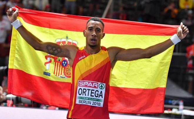 Orlando Ortega, bronze als Europeus de Berlín El Periòdic d'Ontinyent