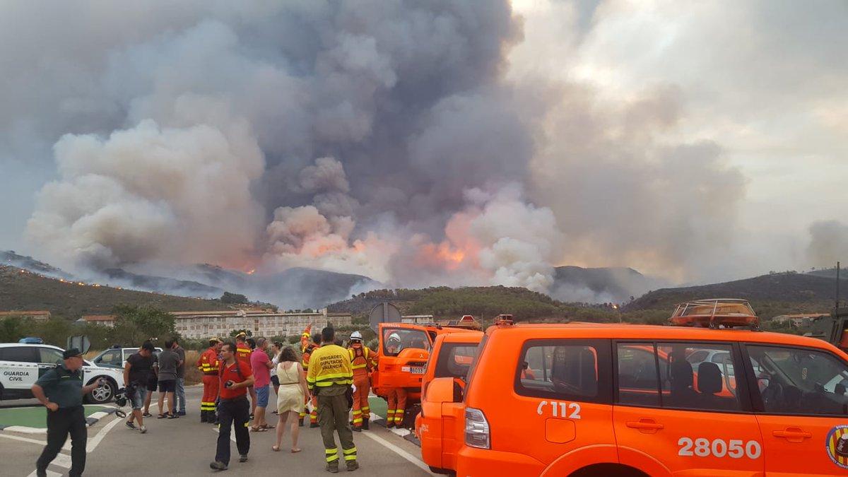 Els veïns desallotjats a causa del foc tornen a casa El Periòdic d'Ontinyent - Noticies a Ontinyent