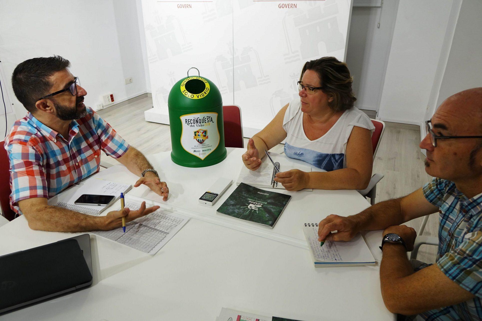 Objectiu fester: ser els 1rs en reciclatge El Periòdic d'Ontinyent