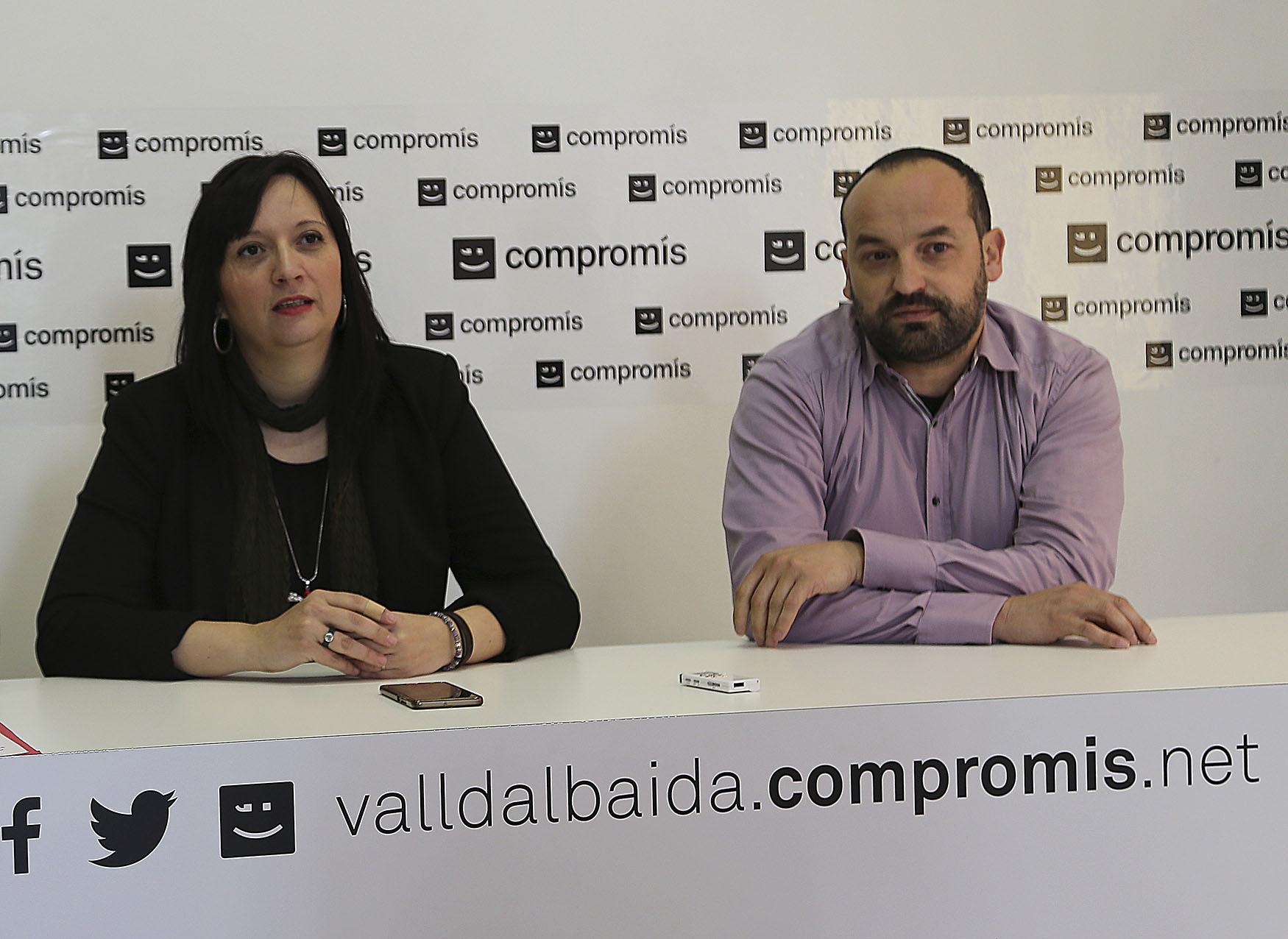 Sílvia Urenya presenta la seua dimissió als militants de Compromís El Periòdic d'Ontinyent