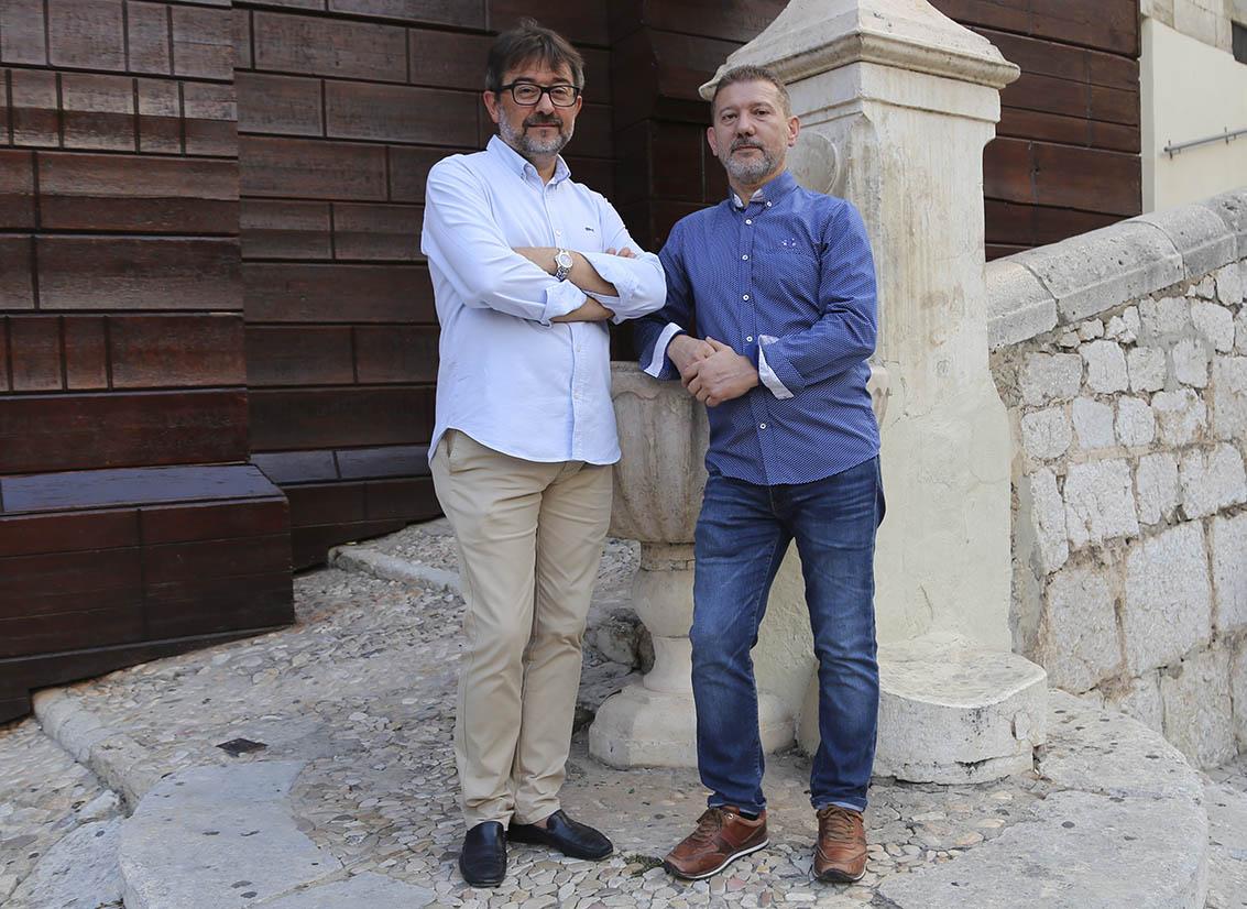 Gabriel Ferre i Àngel Torregrosa assumeixen el relleu de Capitanies El Periòdic d'Ontinyent