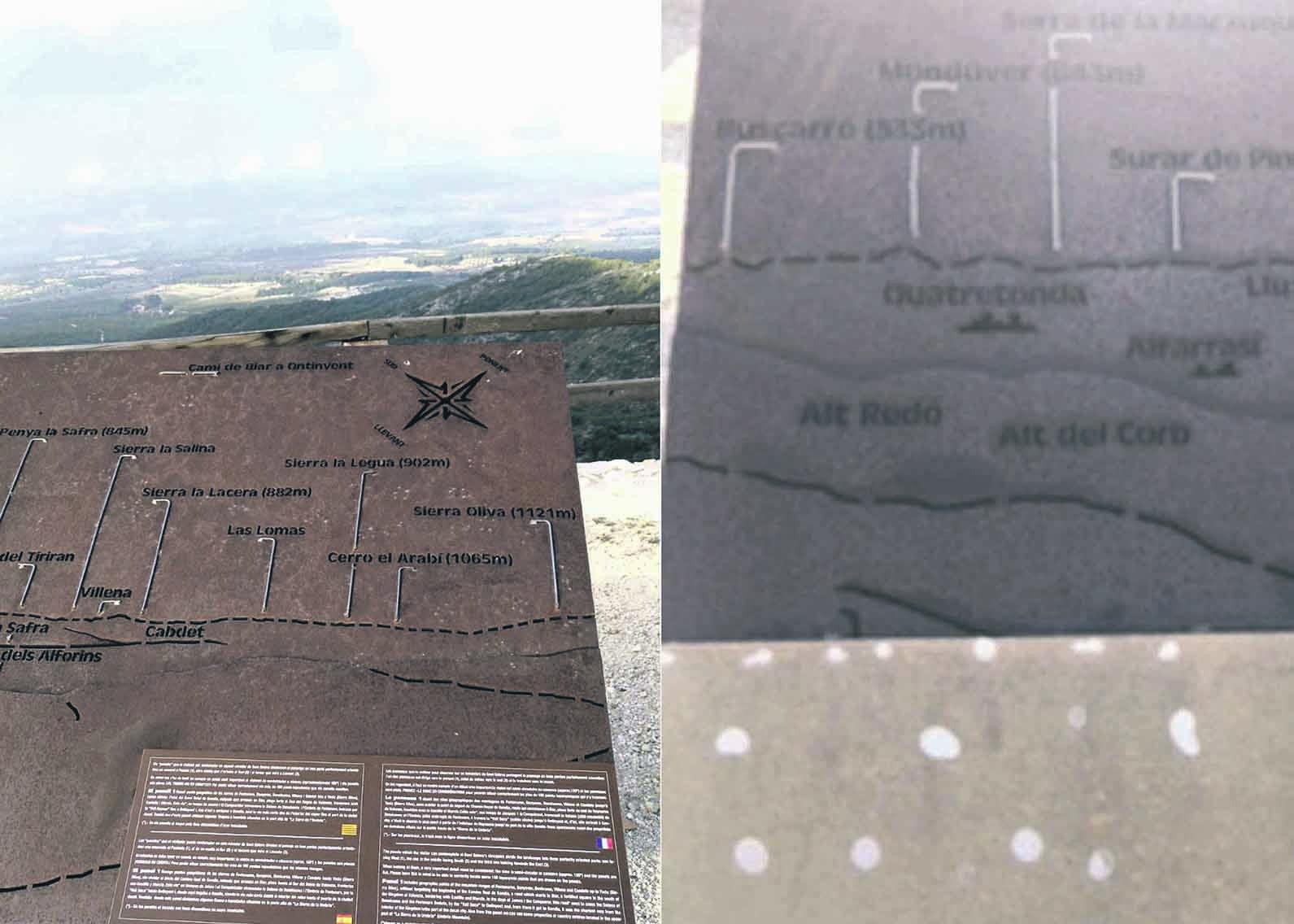 Destrossen els panells informatius de l'ermita de Sant Esteve El Periòdic d'Ontinyent