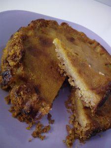 Tarta de calabaza asada El Periòdic d'Ontinyent