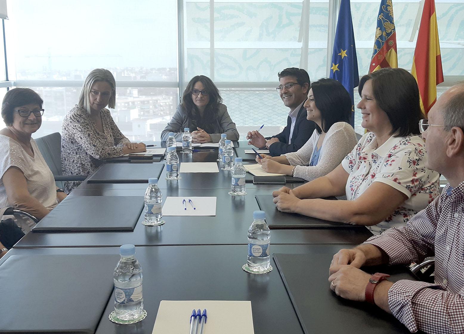 Mónica Oltra assegura que la residència obrirà en novembre El Periòdic d'Ontinyent