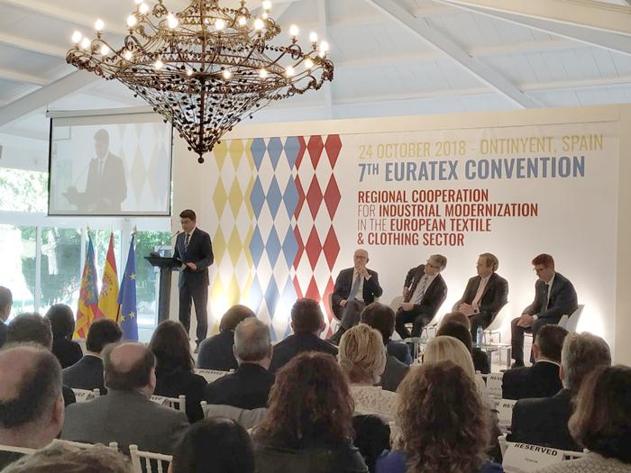 Ontinyent se convierte hoy en la capital europea del textil El Periòdic d'Ontinyent