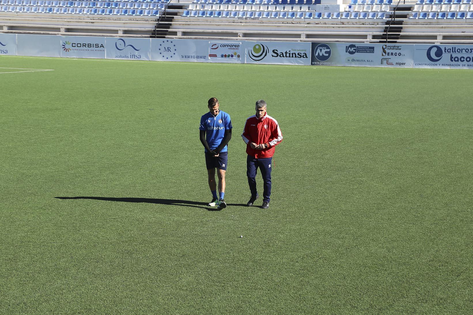 Vicente Parras ja està, de nou, al front de l'Ontinyent CF El Periòdic d'Ontinyent