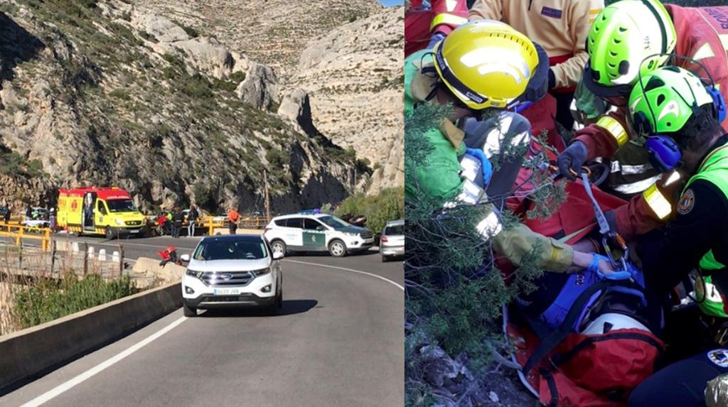 Dos accidents, als voltants d'Ontinyent, a la mateixa hora El Periòdic d'Ontinyent